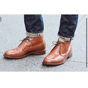 J CREW Ludlow Chukka Boots Leather Lace Up Sz 8D